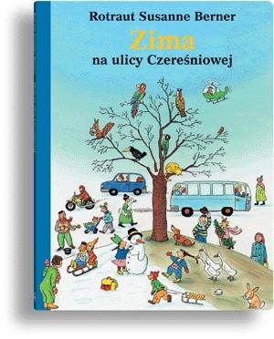 Okładka książki Zima na ulicy Czereśniowej