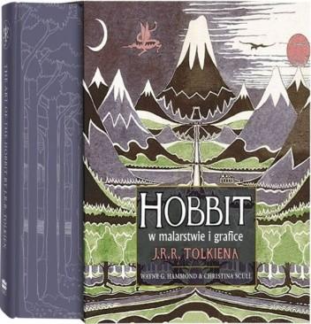 Okładka książki Hobbit w malarstwie i grafice J.R.R. Tolkiena