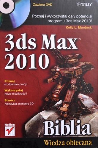Okładka książki 3ds Max 2010 Biblia