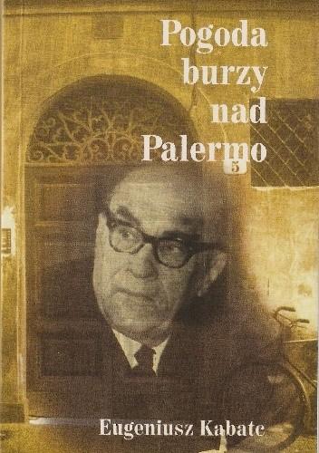 Okładka książki Pogoda burzy nad Palermo