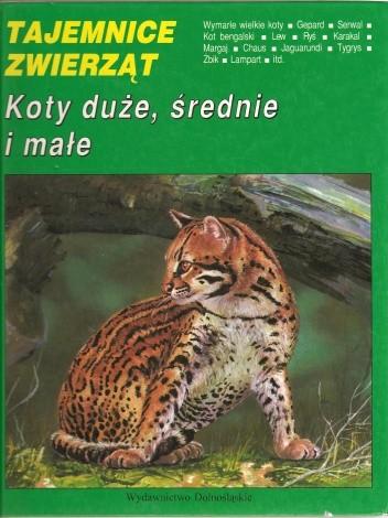 Okładka książki Koty duże, średnie i małe