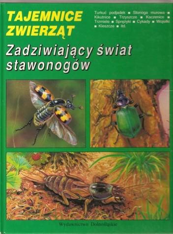 Okładka książki Zadziwiający świat stawonogów