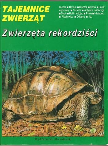 Okładka książki Zwierzęta rekordziści