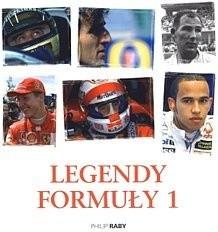 Okładka książki Legendy Formuły 1