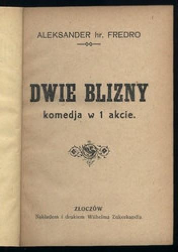 Okładka książki Dwie Blizny