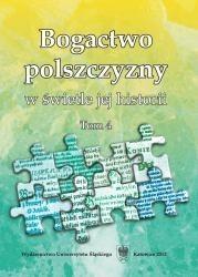 Okładka książki Bogactwo polszczyzny w świetle jej historii. Tom 4