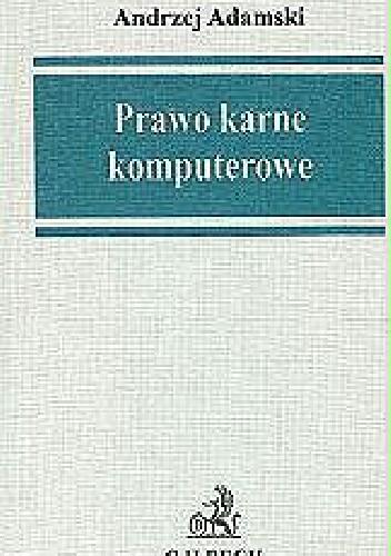 Okładka książki Prawo karne komputerowe
