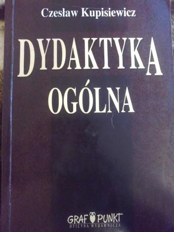 Okładka książki Dydaktyka ogólna