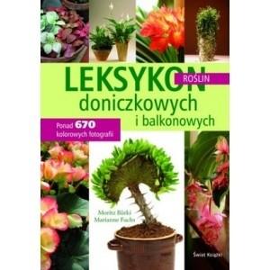Okładka książki Leksykon roślin doniczkowych i balkonowych.