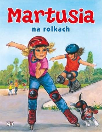 Okładka książki Martusia na rolkach
