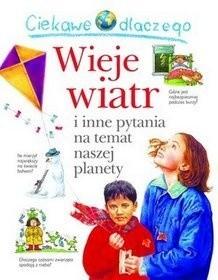 Okładka książki Ciekawe dlaczego wieje wiatr