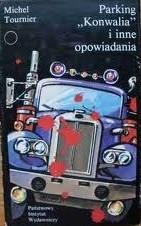 """Okładka książki Parking """"Konwalia"""" i inne opowiadania"""