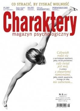 Okładka książki Charaktery Nr 8(187)/2012