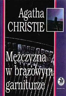 Okładka książki Mężczyzna w brązowym garniturze