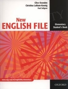 Okładka książki New English File Elementary