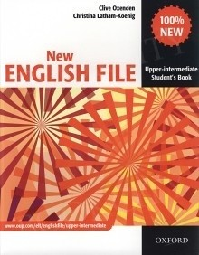 Okładka książki New English File Upper-Intermediate