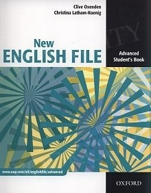 Okładka książki New English File Advanced