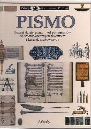 Okładka książki Pismo