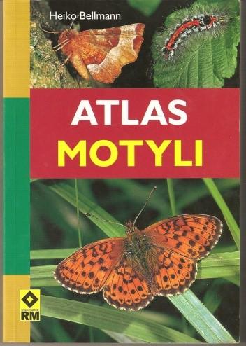 Okładka książki Atlas motyli. Rozpoznawanie i klasyfikowanie