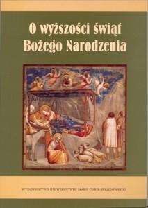Okładka książki O wyższości świąt Bożego Narodzenia