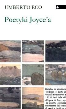 Okładka książki Poetyki Joyce'a