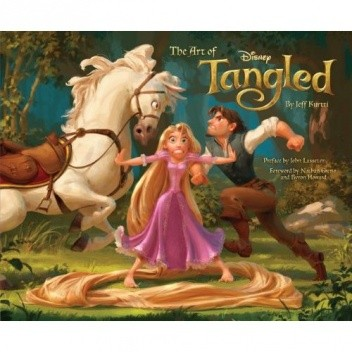Okładka książki The Art of Tangled