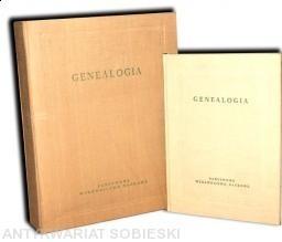 Okładka książki Genealogia