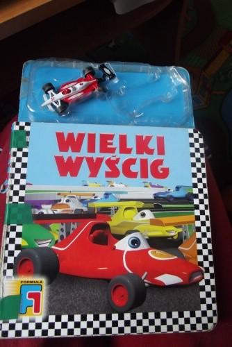Okładka książki Wielki Wyścig