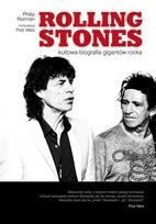 Okładka książki Rolling Stones. Kultowa biografia gigantów rocka.