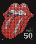 Okładka książki The Rolling Stones 50 lat.