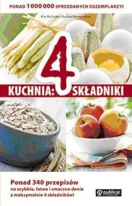 Okładka książki Kuchnia: 4 składniki.