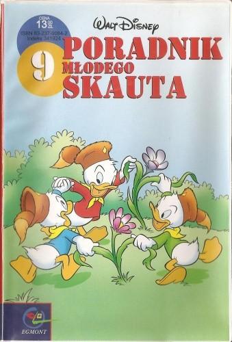 Okładka książki Poradnik Młodego Skauta 9