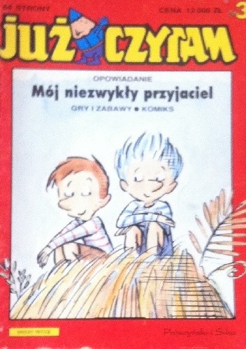 Okładka książki Mój niezwykły przyjaciel
