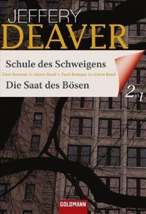 Okładka książki Schule des Schweigens / Die Saat des Bösen