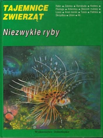 Okładka książki Niezwykłe ryby