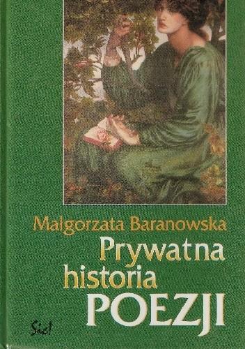 Okładka książki Prywatna historia poezji