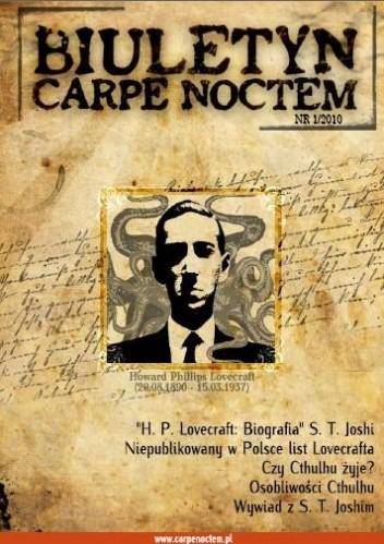 Okładka książki Biuletyn Carpe Noctem nr 1 (1/2010)