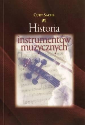 Okładka książki Historia instrumentów muzycznych