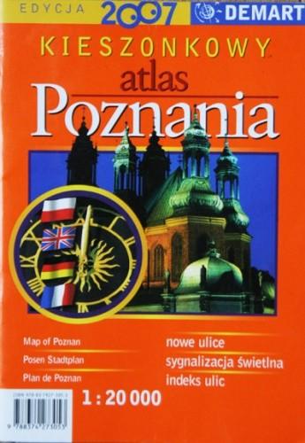 Okładka książki Kieszonkowy atlas Poznania
