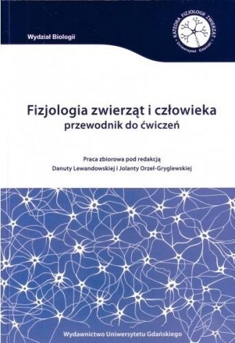 Okładka książki Fizjologia zwierząt i człowieka. Przewodnik do ćwiczeń