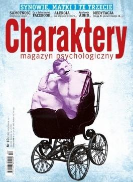 Okładka książki Charaktery Nr 10 (189) / PAŹDZIERNIK 2012