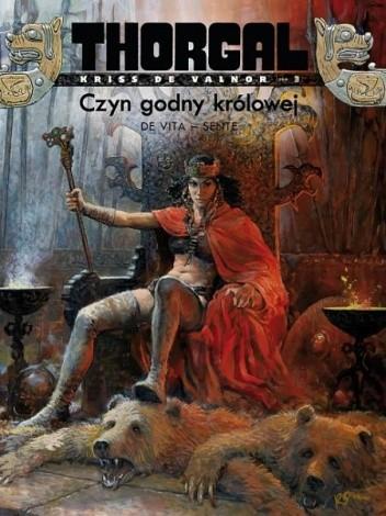 Okładka książki Thorgal - Kriss de Valnor: Czyn godny królowej