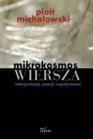 Okładka książki Mikrokosmos WIERSZA