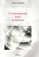 Okładka książki O systematyzacji treści kształcenia