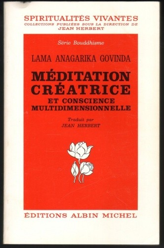 Okładka książki Méditation créatrice et conscience multidimensionnelle