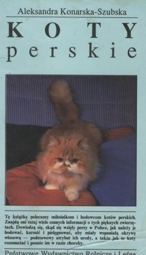 Okładka książki Koty perskie