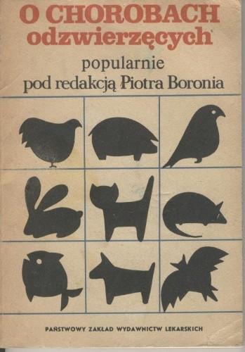Okładka książki O chorobach odzwierzęcych popularnie