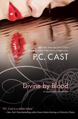 Okładka książki Divine by Blood