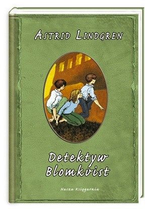 Okładka książki Detektyw Blomkvist