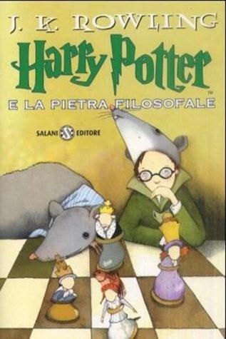 Okładka książki Harry Potter e la Pietra Filosofale